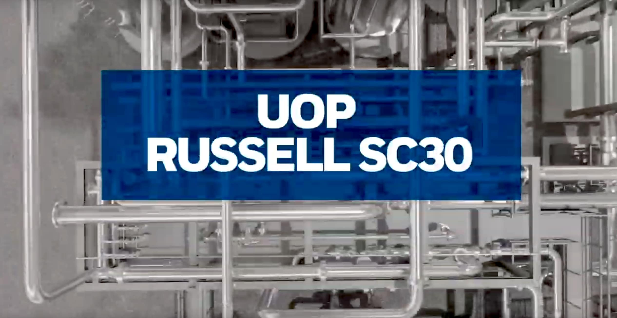 The UOP Russell SC30 from Honeywell is the first modular cryogenic gas plant capable of processing 300 cubic feet-per-day.