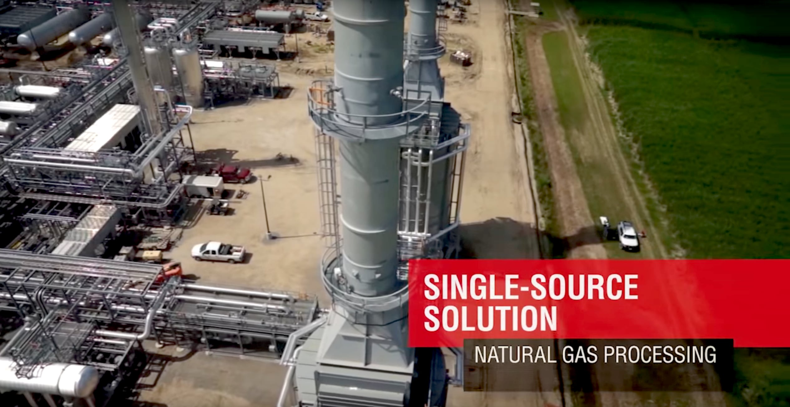 Honeywell UOP's total turnkey solution allows midstream owners and operators to process natural gas and natural gas liquids, easily, and cost-effectively.
